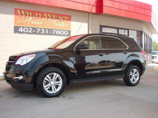 2015 BLACK CHEVROLET EQUINOX LT (2GNALCEK7F6) with an 2.4L engine, Automatic transmission, located at 6610 L St., Omaha, NE, 68117, (402) 731-7800, 41.212872, -96.014702 - Photo #0